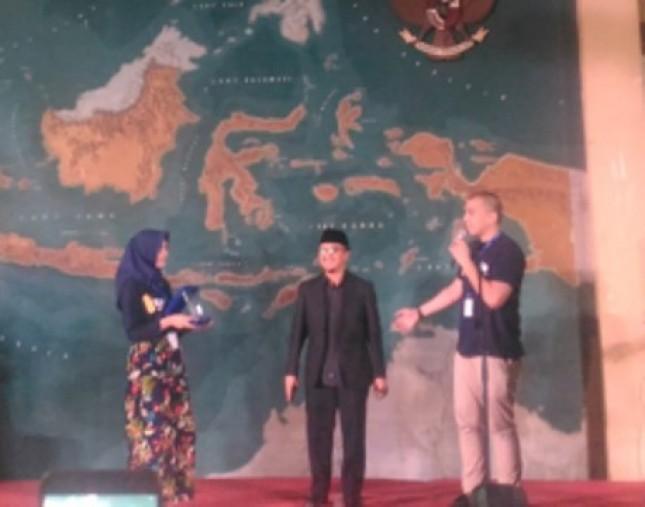 Ustad Yusuf Mansur menggelar Milad Paytren ke 4 di Jakarta, Selasa (22/8/2017) (Foto Anto)
