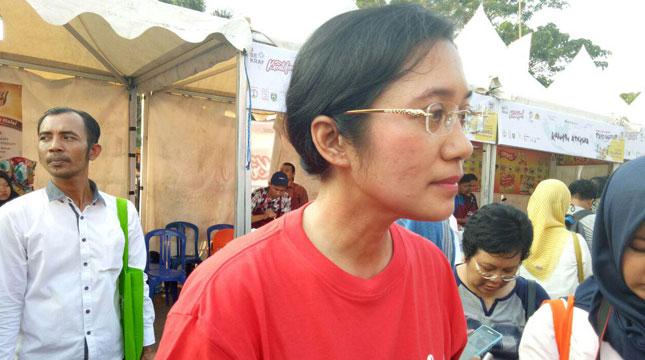 Kepala Dinas Kebudayaan dan Pariwisata Sumatera Selatan, Irene Camelyn Sinaga (Chodijah Febriyani/Industry.co.id)