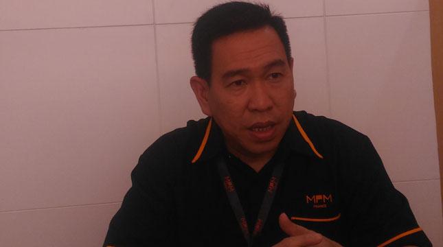 Direktur Utama PT Mitra Pinasthika Finance (MPM Finance), Johny Kandano (Foto: Wiyanto/Industry.co.id)
