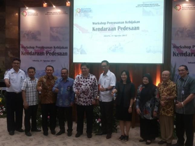 Menteri Airlangga: Lima Perusahaan Sudah Siap Produksi Kendaraan Pedesaan (Foto Ridwan)