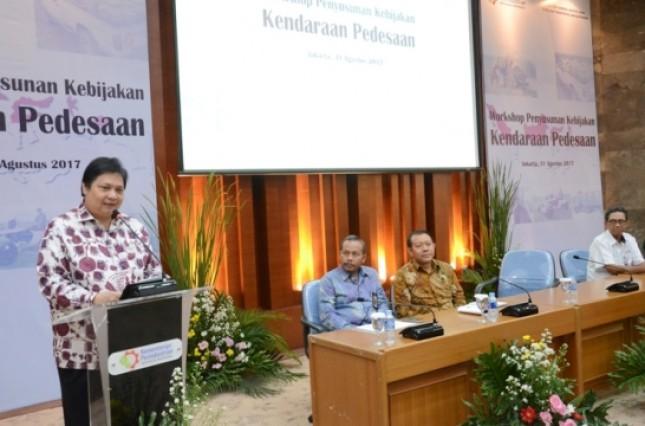 Menteri Airlangga: Diperlukan Upaya Serius Untuk Jadikan Indonesia Sebagai Basis Produksi Industri Otomotif Dunia (Foto Ridwan)