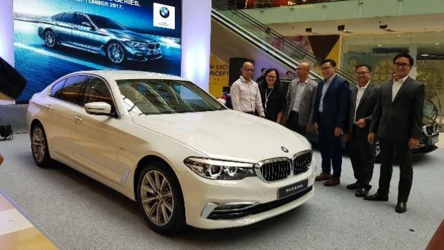 BMW Indonesia perkenalkan all-new BMW Seri 5 di Surabaya. (Foto Humas)