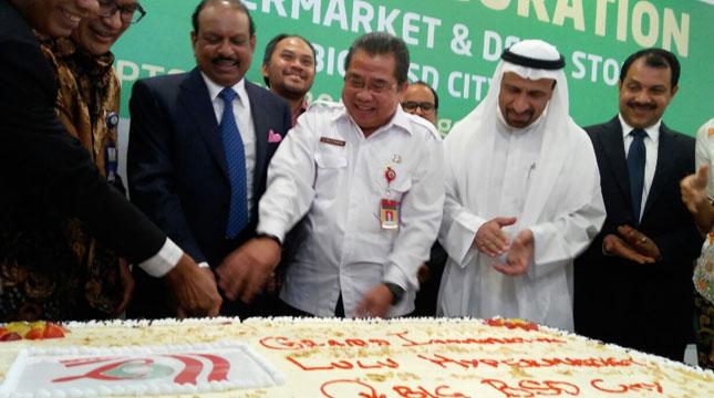 Peluncuran Lulu Hypermarket & Departemen Store di QBIG BSD City Tanggerang (Dinar Avriyani/Industry.co.id)