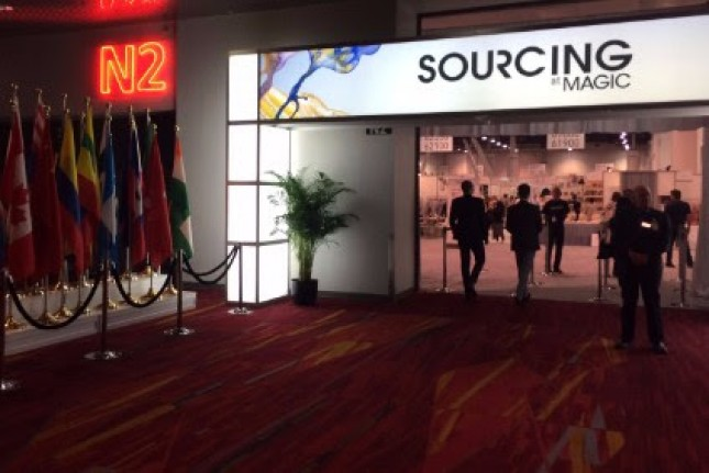 Sourcing at magic di Las Vegas (ist)