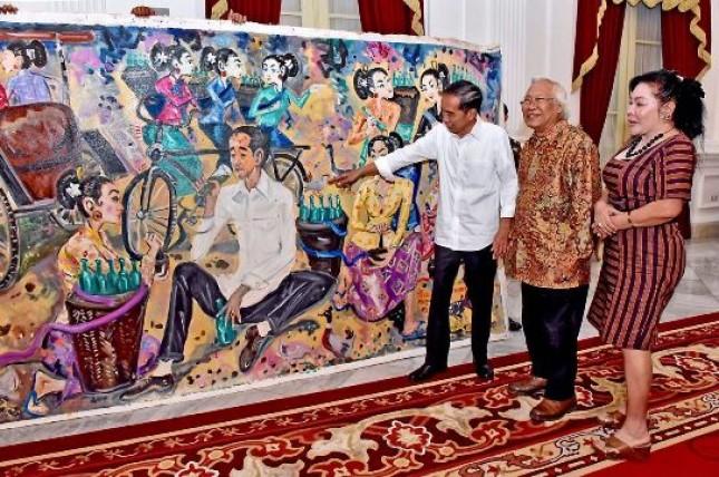 Maestro Lukis Bali Nyoman Gunarsa Meninggal Dunia (Foto Ist)