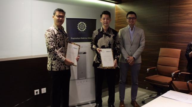 Ampd Energy dan Praptadaya Makmur Abadi Perkenalkan Ampd Silo di Indonesia