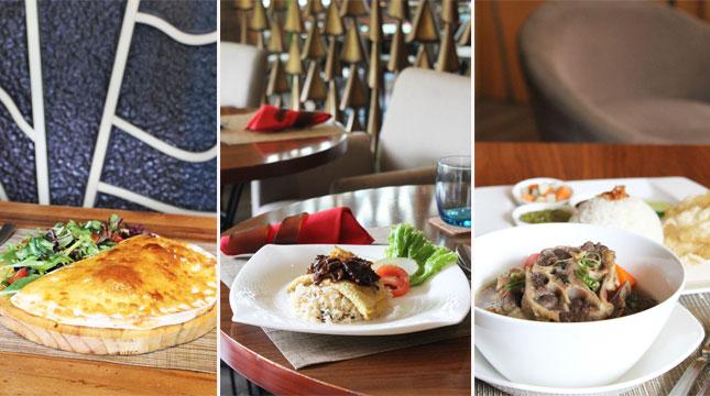 Menu A Ala Carte di Botany All Day Dining, Hotel Holiday Inn Jakarta Kemayoran