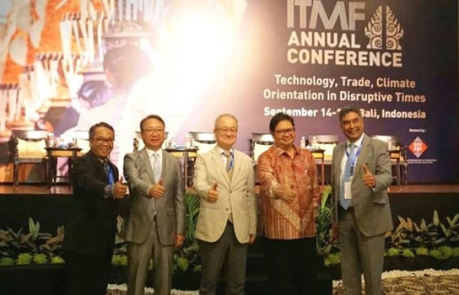 Menperin Airlangga: Industri TPT memiliki peranan yang cukup strategis (Foto Ist)