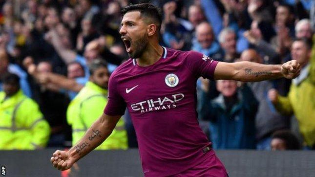 Penyerang Manchester City Sergio Aguero. (Foto: AFP)