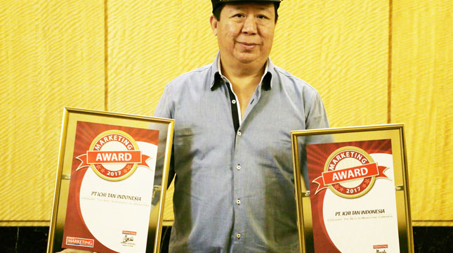 Ichitan Sukses Meraih 2 Penghargaan The Best Marketing Campaign dan The Best in Experiential Marketing di Marketing Awards 2017