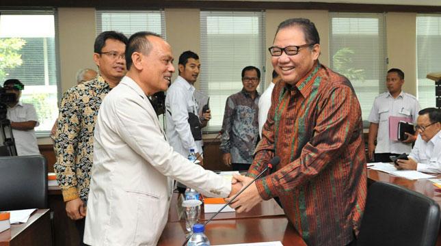 Menteri Koperasi dan UKM AAGN Puspayoga dalam Acara Raker Komite IV Dewan Perwakilan Daerah (DPD) RI