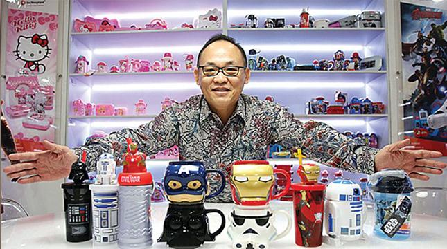 CEO Technoplast Sjamsoe Fadjar Indra