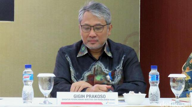 Direktur Perencanaan Investasi dan Manajemen Risiko Pertamina Gigih Prakoso