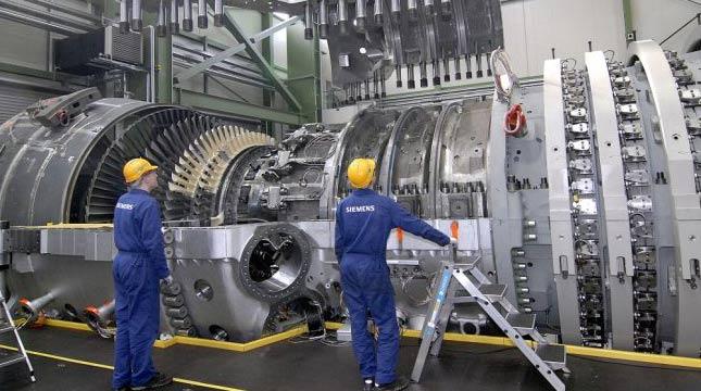Turbin Gas Siemens (Ist)