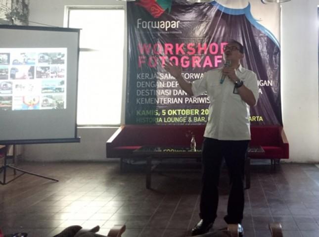 Dadang Rizki Ratman, Deputi Bidang Pengembangan Destinasi dan Industri Pariwisafa, Kementerian Pariwisata (Foto Dije)