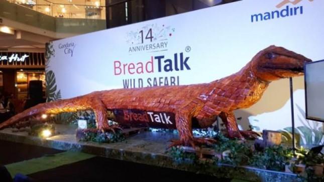 Roti Komodo Kreasi Breadtalk Pecahkan Rekor MURI