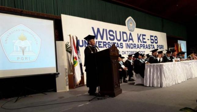 Rektor UNINDRA PGRI, Prof. Dr. H. Sumaryoto