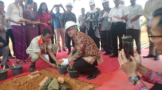 Ground breaking perumahan karyawan Lion Air