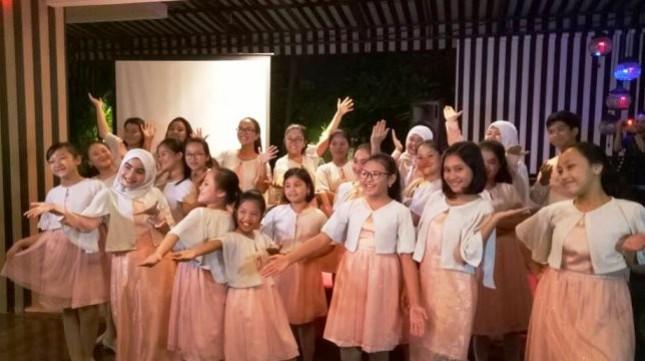 Purwa Caraka Music Studio Choir yang Masuk Nomine di 3 Kategori AMI Awards 2018
