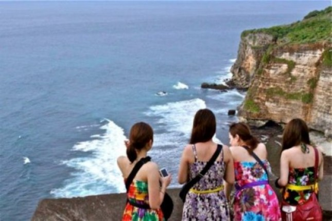 Kunjungan Wisman ke Bali (Foto ist)