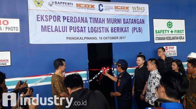 Pusat Logistik Timah di Bangka Belitung Resmi Beroperasi (ICDX/IDUSTRY.co.id)