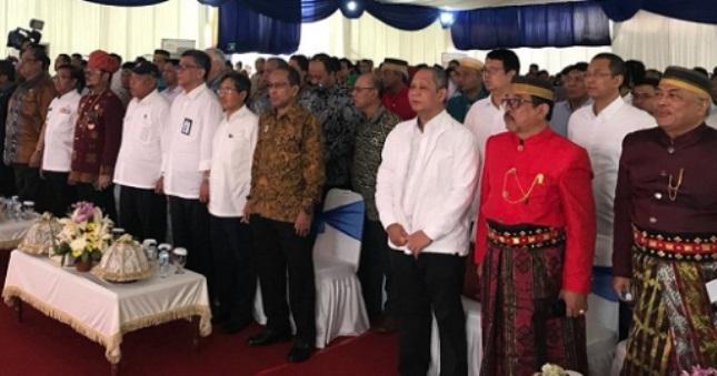 Margautama Nusantara Groundbreaking Pembangunan Tol AP Pettarani (Foto Humas)