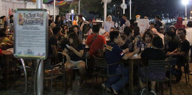 Pencinta Kopi Ramaikan Festival Kuliner Bekasi 2017 (Foto Ist)