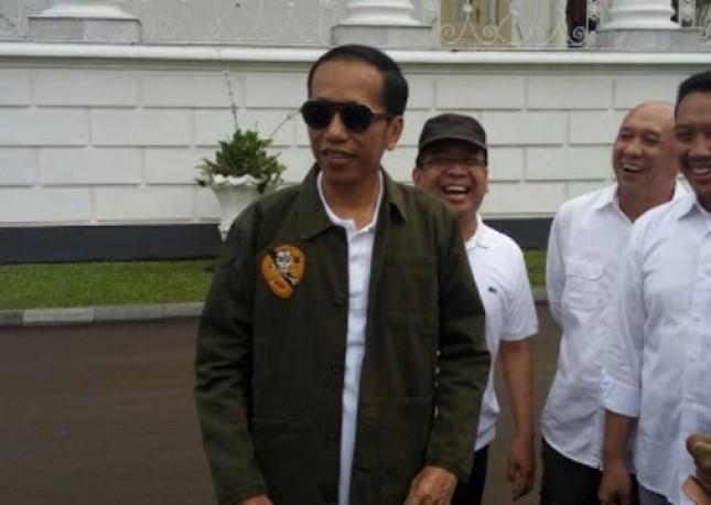 Presiden Jokowi di Istana Bogor Sabtu (28/10/2017) (Foto Setkab)