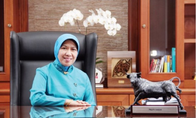Wakli Ketua Dewan Komisioner OJK Nurhaida (Foto Ist)
