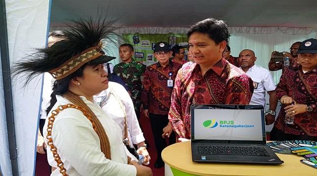 Kepala Divisi Komunikasi BPJS Ketenagakerjaan, Irvansyah Utoh Banja. berbatik (Foto: Anto/Industry.co.id).