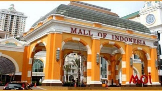 Mall Of Indonesia (MOI) Kelapa Gading Jakarta (Foto Ist)