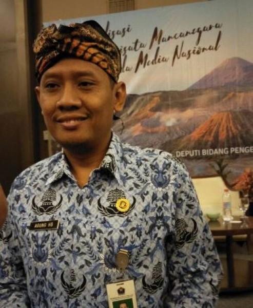 Agung, selaku Kasi Pemasaran Pariwisata, Disparbud Kota Malang (Foto Dije)