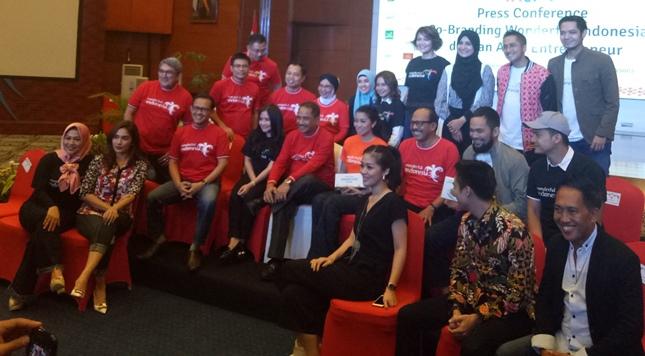 Promosikan Wonderful Indonesia, Kemenpar Gandeng 23 Brand Artis Entrepreneur (Chodijah Febriyani/Industry.co.id)
