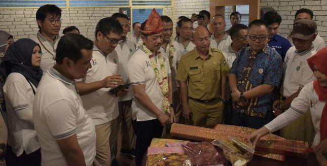 Rayakan HUT Ke-43, Semen Baturaja Luncurkan Rumah Kreatif (Foto Ist)