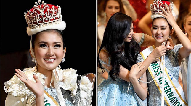 Kevin Liliana Miss Internasional 2017 (Foto:kevinlln/Instagram)
