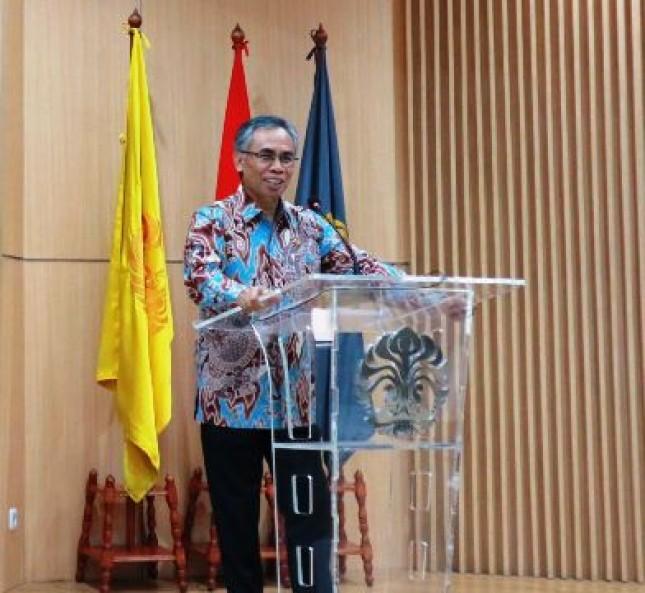 Wimboh Santoso Ketua Dewan Komisioner (Foto Anto)