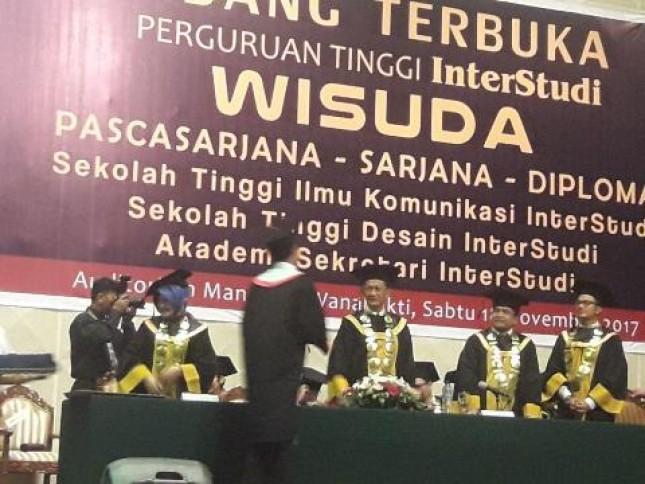 Wisudawan InterStudi Siap Menjadi Entrepreneur Handal (Foto Ist)