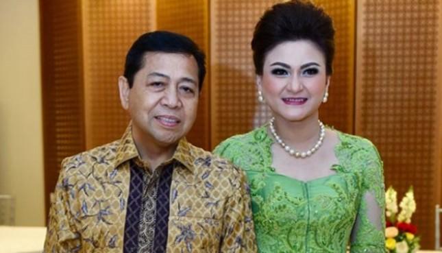 Deisti Astriani Tagor, istri Ketua DPR RI Setya Novanto (Foto Ist)