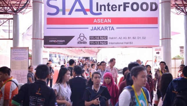 Pameran SIAL Interfood 2017 di JIExpo Kemayoran 22 -25 November 2017