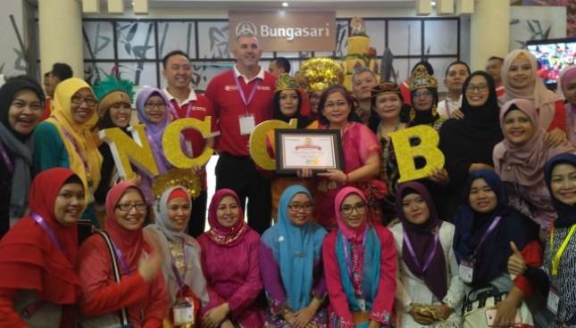 PT Bungasari Flour Mills turut memeriahkan pameran produk makanan dan minuman atau pameran SIAL Interfood 2017 yang berlangsung Rabu 22 hingga 25 November 2017 di Jakarta Internasional Expo Kemayoran.