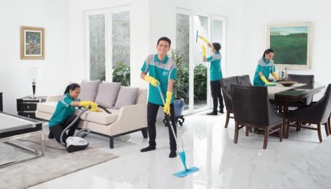 KliknClean jasa kebersihan untuk bersih-bersih apartemen, rumah secara online.