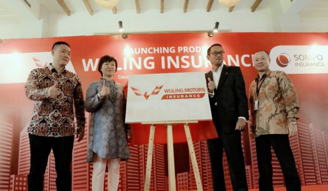 Peluncuran Sompo Insurance (dok INDUSTRY. Co. Id)