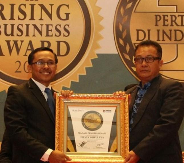 Fiesta White Tea Raih Penghargaan, Pertama di Indonesia (Foto Dok Industry.co.id)
