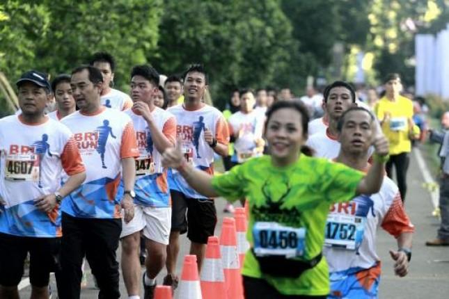 5.000 Pelari Ramaikan Gelaran BRIRUN 2017 di Bogor (Foto Rizki Meirino)