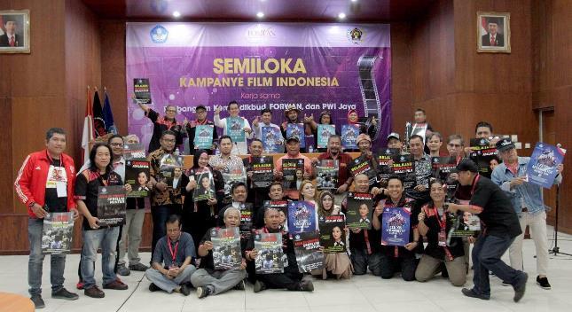 Pencanangan Kampanye Film Indonesia antara Pusbangfilm-FORWAN-PWI JAYA