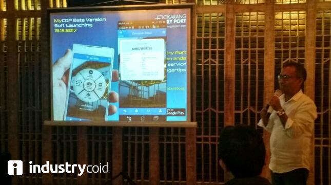 Soft Launching Aplikasi MyCDP (Hariyanto/INDUSTRY.co.id)