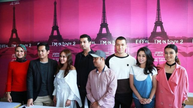 Pemain, Sutradara, dan Produser film Eiffel I am In Love 2