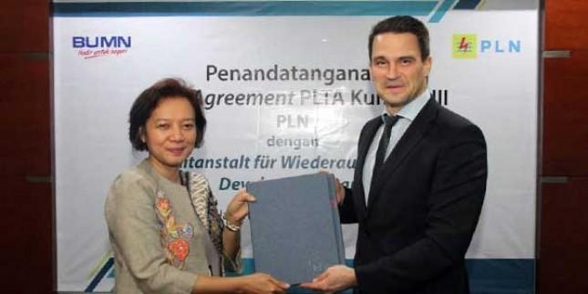 PLN Tandatangani Perjanjian Fasilitas Kredit Dengan KfW