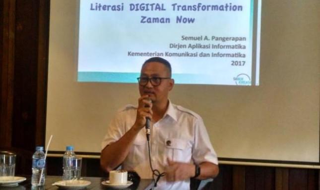 Dirjen Aplikasi Informatika Kemenkominfo, Samuel Abrijani Pangerapan