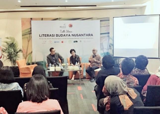 MedcoFoundation gelar Talkshow Literasi Budaya Nusantara (dok INDUSTRY.co.id)